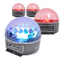 BeamZ Magic Jelly LED Disco Ball Light, Set of 4