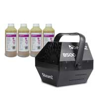 BeamZ B500 Bubble Machine with 4L Fluid