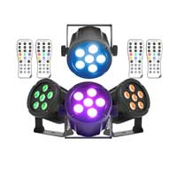 BeamZ Professional SlimPar30 LED Par Can, Set of 4