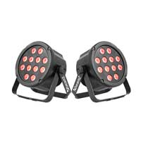 BeamZ SlimPar35 Par Wash Lights Pair