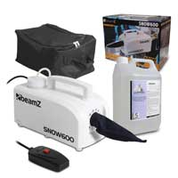 Beamz SNOW600 Snow Machine & Gear Sack