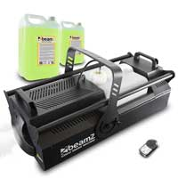 BeamZ S3500 High Output DMX Smoke Machine with 10L Fluid