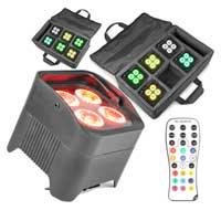 BeamZ BBP94 LED Par Uplighters, Set of 12