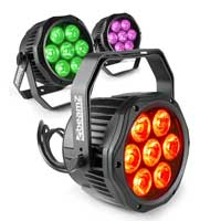 BeamZ Professional BWA410 LED Par Can, Set of 3