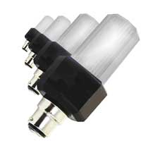 4x Eurolite Strobe Light Bulbs with B-22 Base