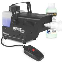 BeamZ Rage600I Smoke Machine + Wireless Controller & 250ml Fluid