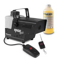 BeamZ RAGE600 Smoke Machine with Wireless Control & 1L Fluid