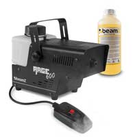 BeamZ RAGE600 Smoke Machine with Remote Control & 1L Fluid