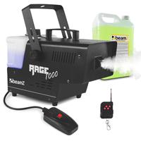 BeamZ Rage1000 Smoke Machine + Wireless Controller & 5L Fluid