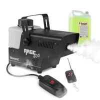 BeamZ RAGE600 Smoke Machine with Remote Control & 5L Fluid