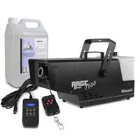 BeamZ RAGE1800 Snow Machine & 5L Fluid