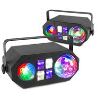 BeamZ LEDWAVE LED Disco Light Pair