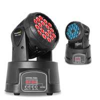 BeamZ MHL108MK3 LED Moving Head Light Pair
