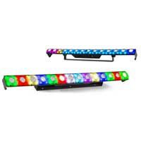 2x BeamZ LCB14 Hybrid LED BAR Pixel Control