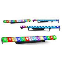 4x BeamZ LCB14 Hybrid LED BAR Pixel Control