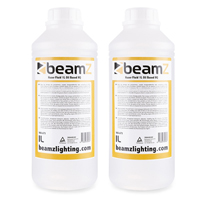 2x BeamZ 1L High Quality Oil Based Haze Fluid