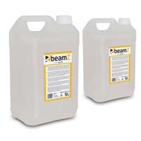 2x BeamZ 5L High Quality Oil Based Haze Fluid