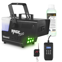 BeamZ Rage 1000LED Smoke Machine with Timer Control & 250ml Fluid
