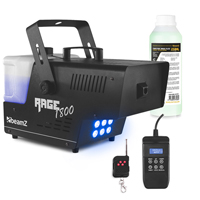 BeamZ Rage 1800LED Smoke Machine with Timer Control & 250ml Fluid