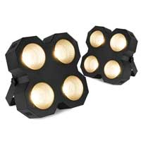 BeamZ SB400 LED Stage Blinder 4X Lighting Pair