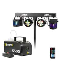 Max Partybar12 Party Lighting & S500 Smoke Machine