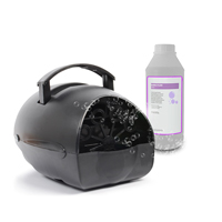 BeamZ B100 Battery Bubble Machine & 1L Fluid
