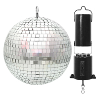 Mirror Ball 20cm with Battery Motor