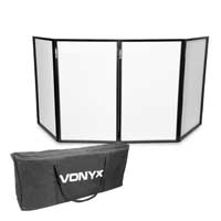 Vonyx DB5 Foldable DJ Screen with Carry Bag