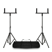 Vonyx WMS-03 Double PA Speaker Stands Including Carry Bag - Pair