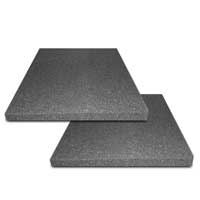 Pair of Studio Monitor Speaker Acoustic Isolation Foam Pads (28 x 23 x 2cm)