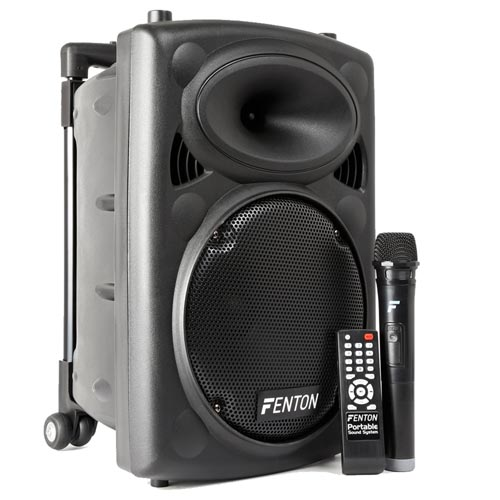 Fenton FPS10 10 inch Portable Bluetooth Active Speaker