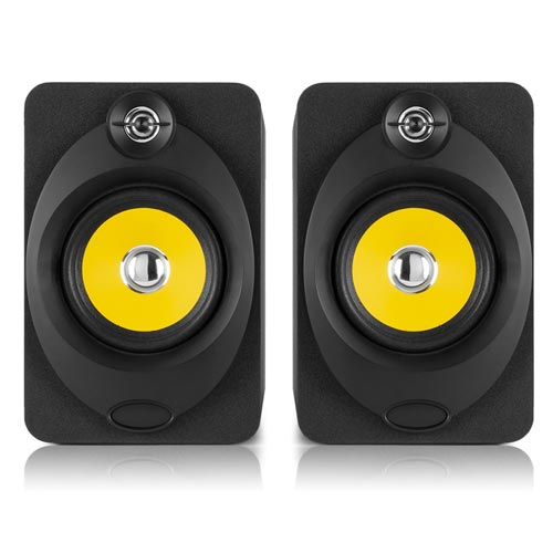 "Vonyx XP50 Active Studio Monitors (Pair) 5.25"" USB Bluetooth"