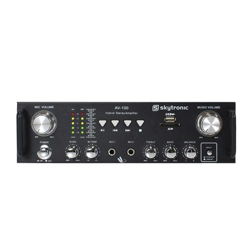 Skytronic AV-100 Hi-Fi Stereo Amplifier
