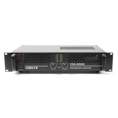 Vonyx VXA-3000 MKII 2 Channel Power Amplifier