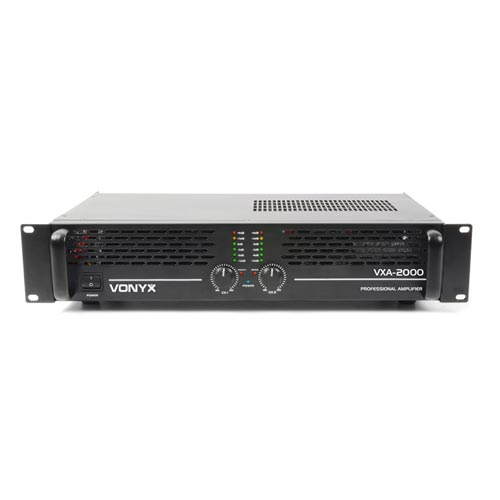 Vonyx VXA-2000 MKII 2 Channel Power Amplifier