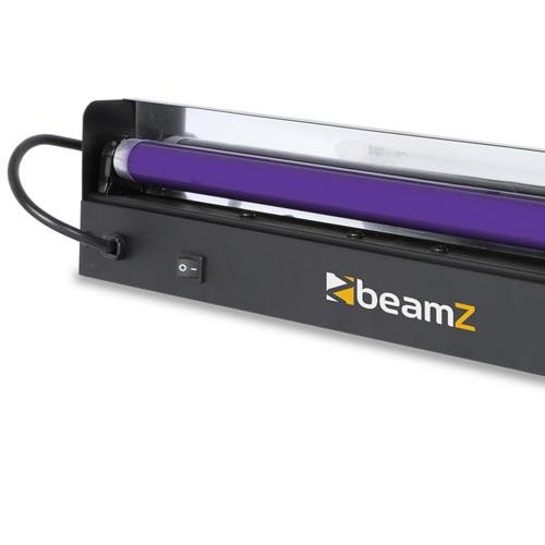 Beamz Uv Strip Light Fluorescent Blacklight Tube 45cm