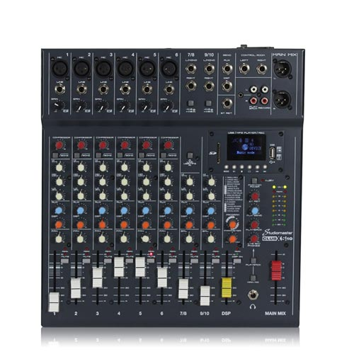 Studiomaster Club XS10 10 Channel Mixer Desk