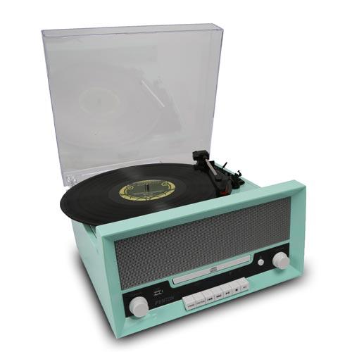 Fenton RP135 60's Design Retro Record Player