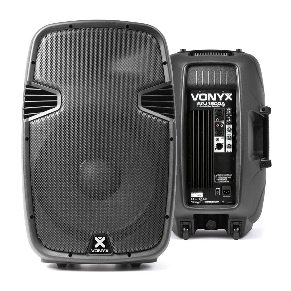 "Vonyx SPJ-1500A 15"" Active PA Speaker"