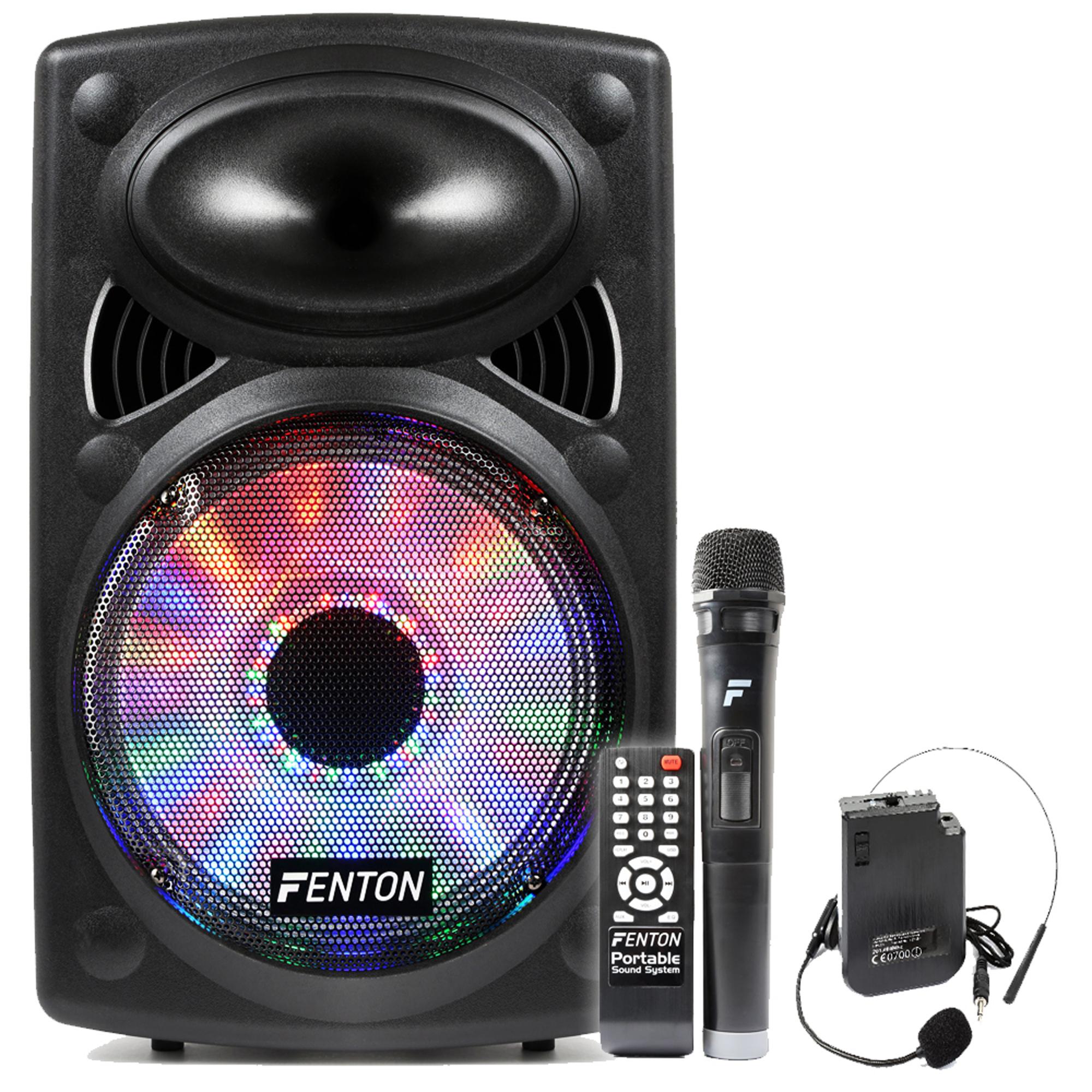 Portable... Wireless PA System with Mic/&Headset Mic Karaoke Machine
