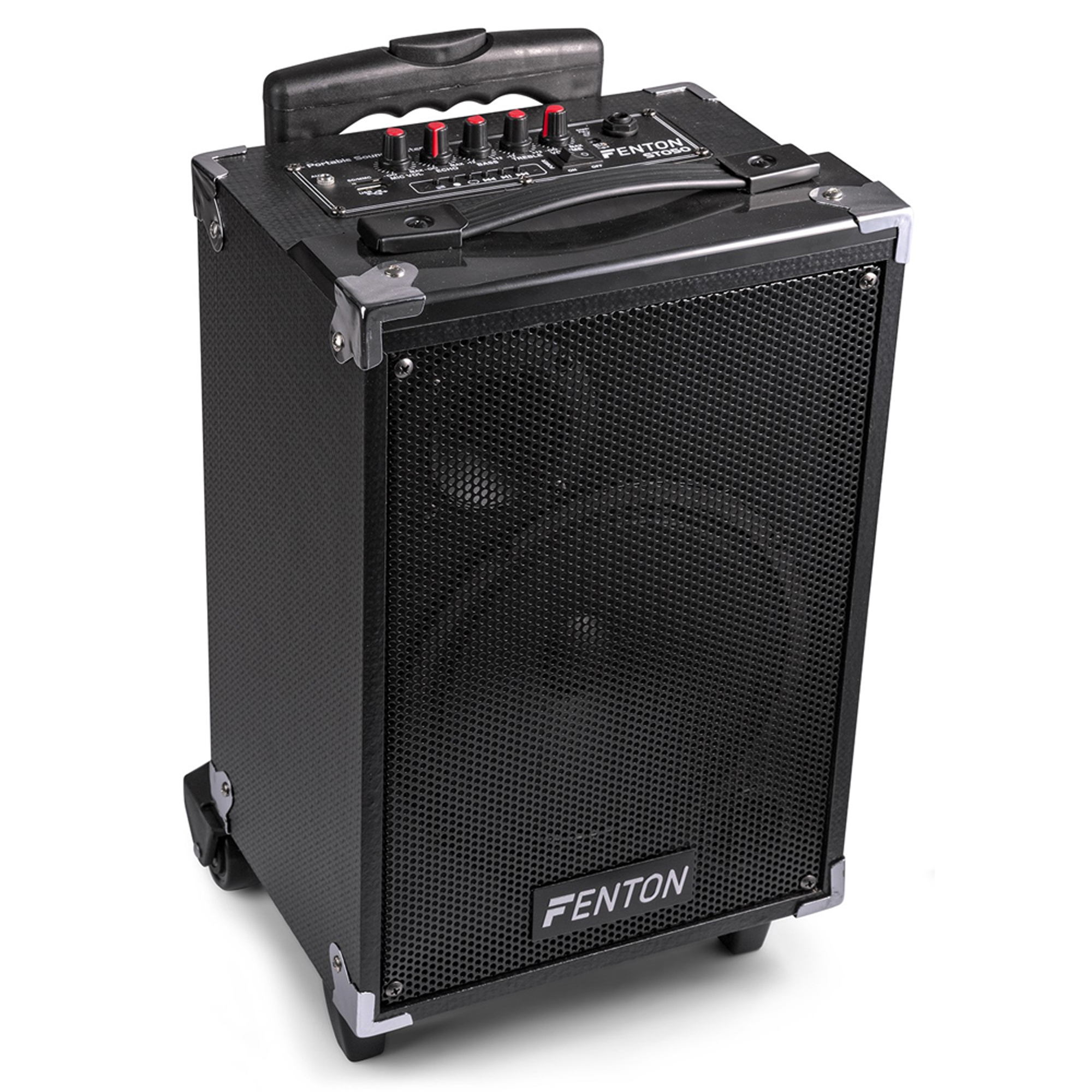 fenton st050 portable pa sound system 8 bluetooth mp3 usb. Black Bedroom Furniture Sets. Home Design Ideas