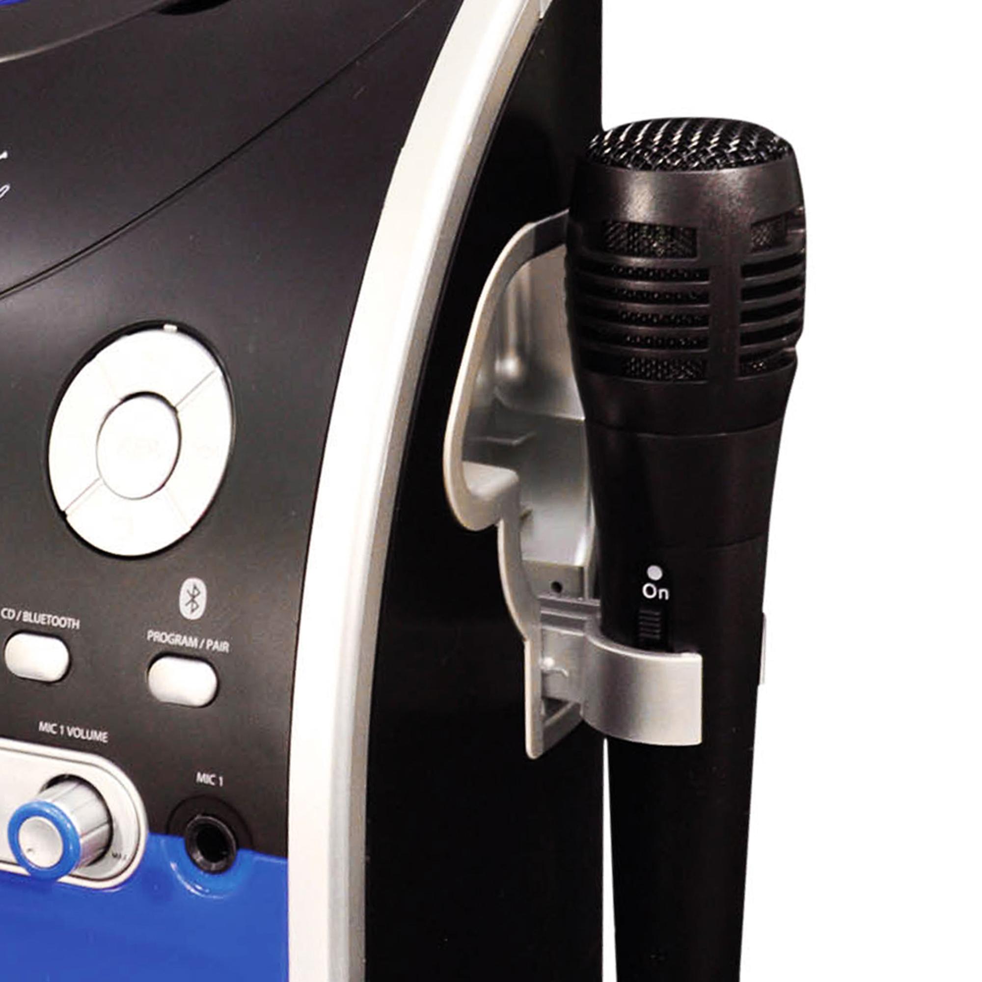 Mr Entertainer KAR120 CDG Bluetooth Karaoke Machine