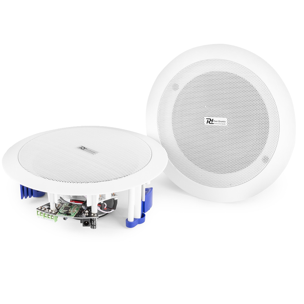PD CSBT60 Powered Bluetooth Ceiling Speakers
