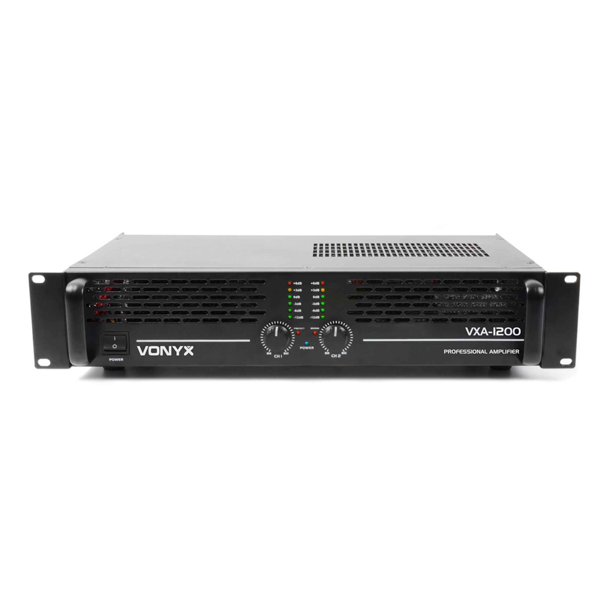 Vonyx VXA-1200 MKII Professional Power Amplifier