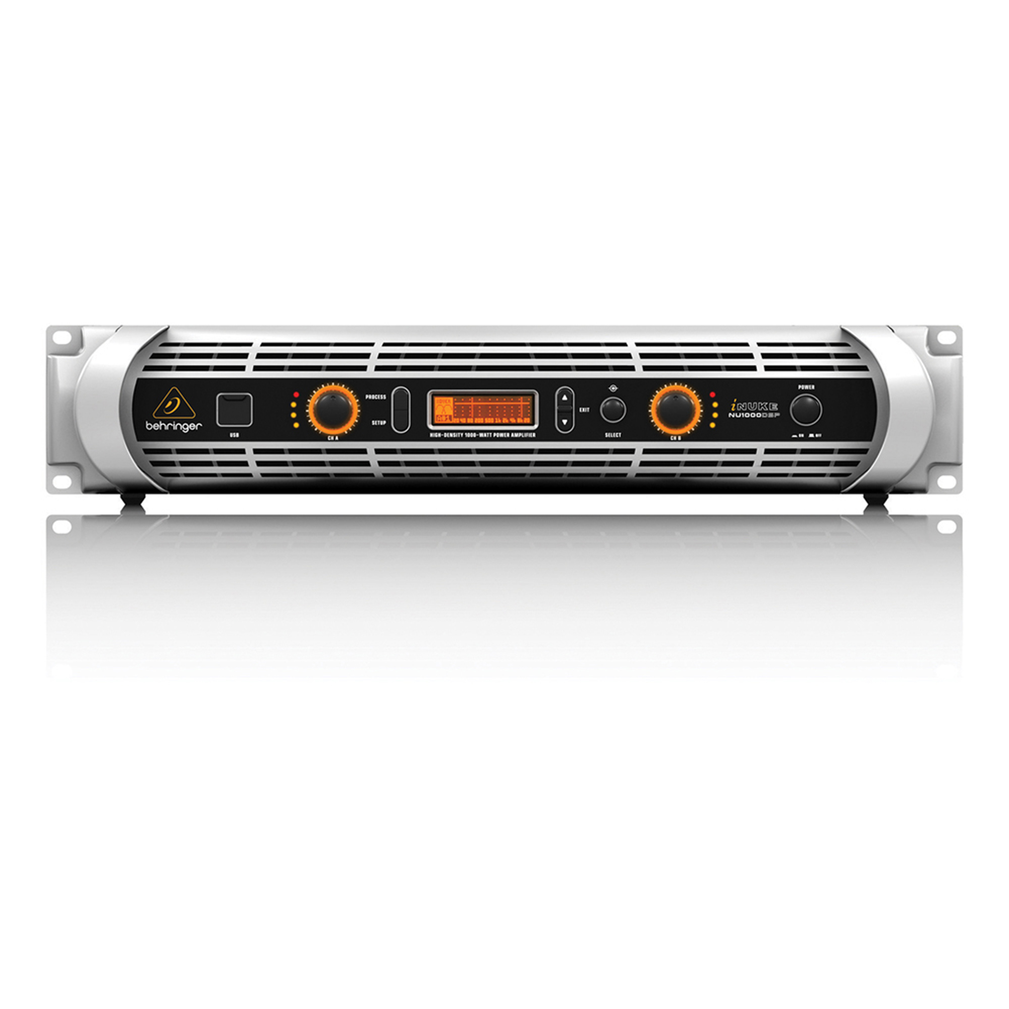 behringer inuke nu1000dsp stereo pa amplifier with dsp 1000w. Black Bedroom Furniture Sets. Home Design Ideas