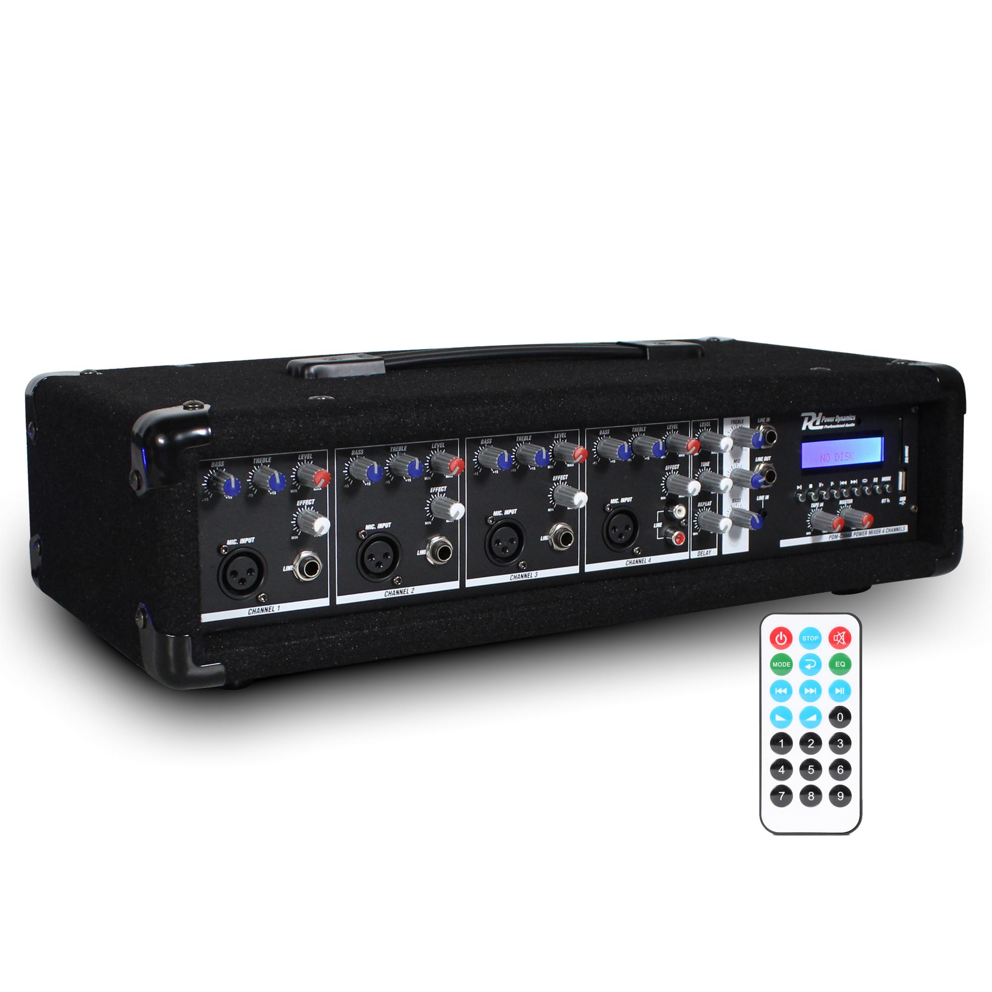 PD PDM-C405A Bluetooth 4 Channel Mixer Amplifier