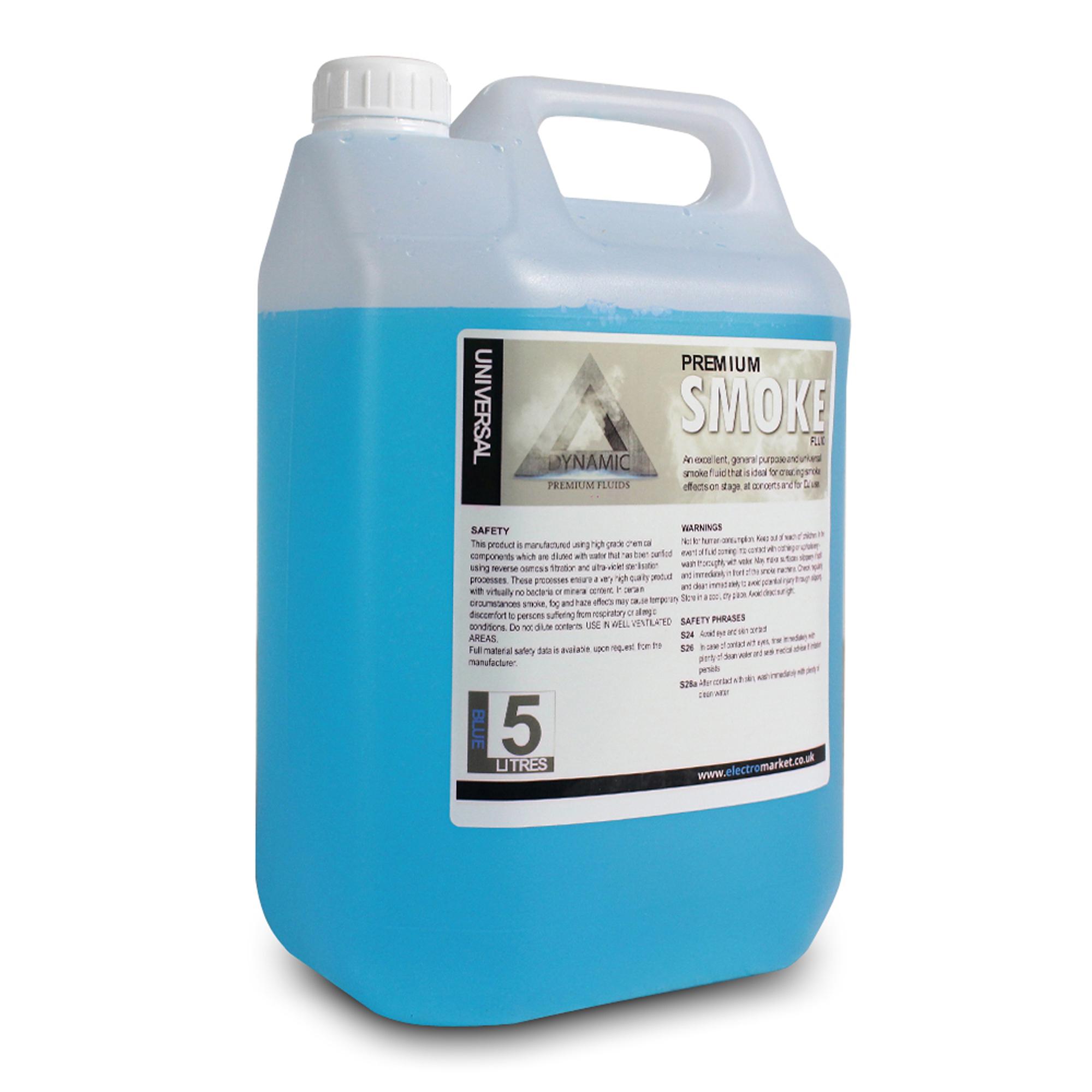 Dynamic Premium 5L Blue Smoke Fluid