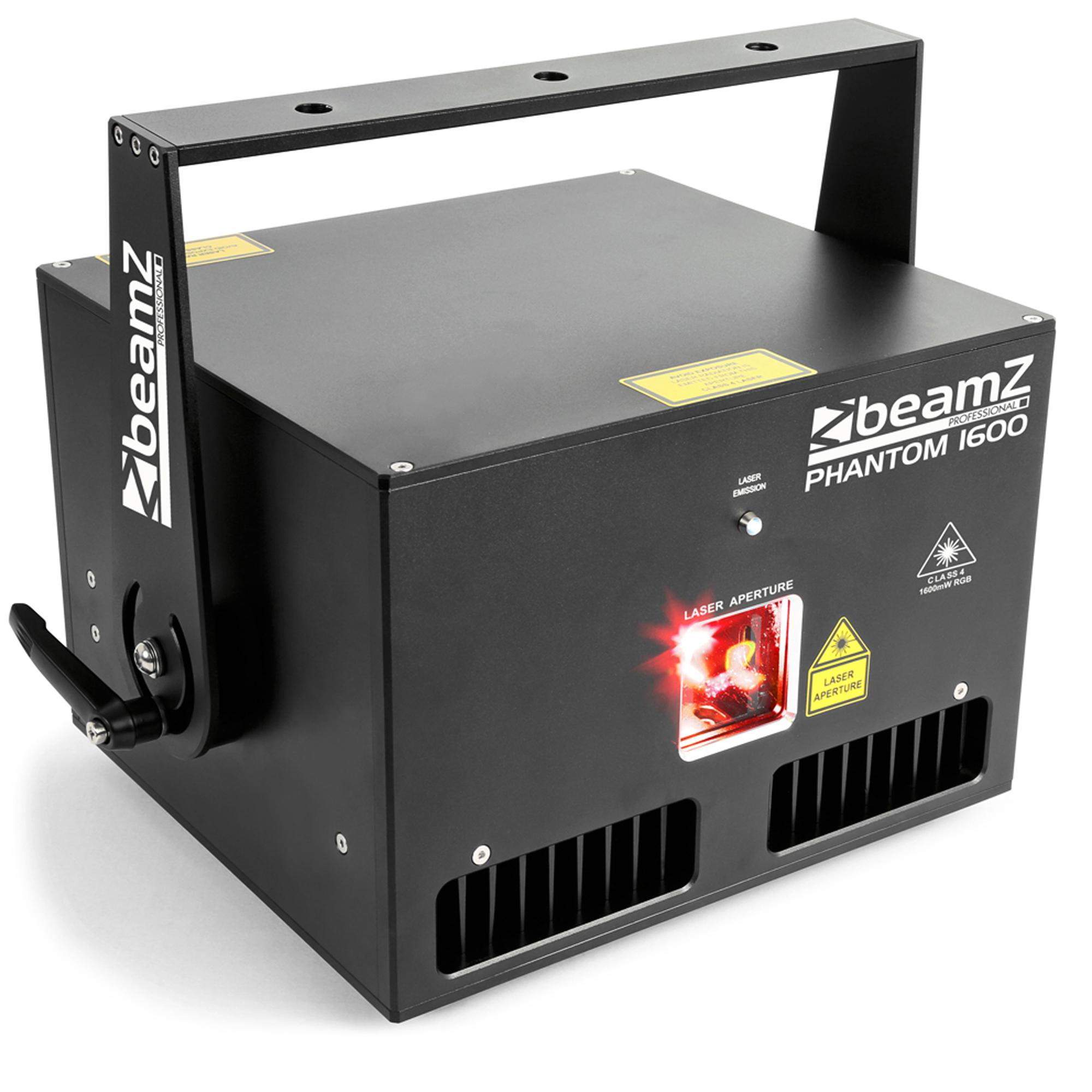 BeamZ Professional Phantom 1600 DJ Laser Light