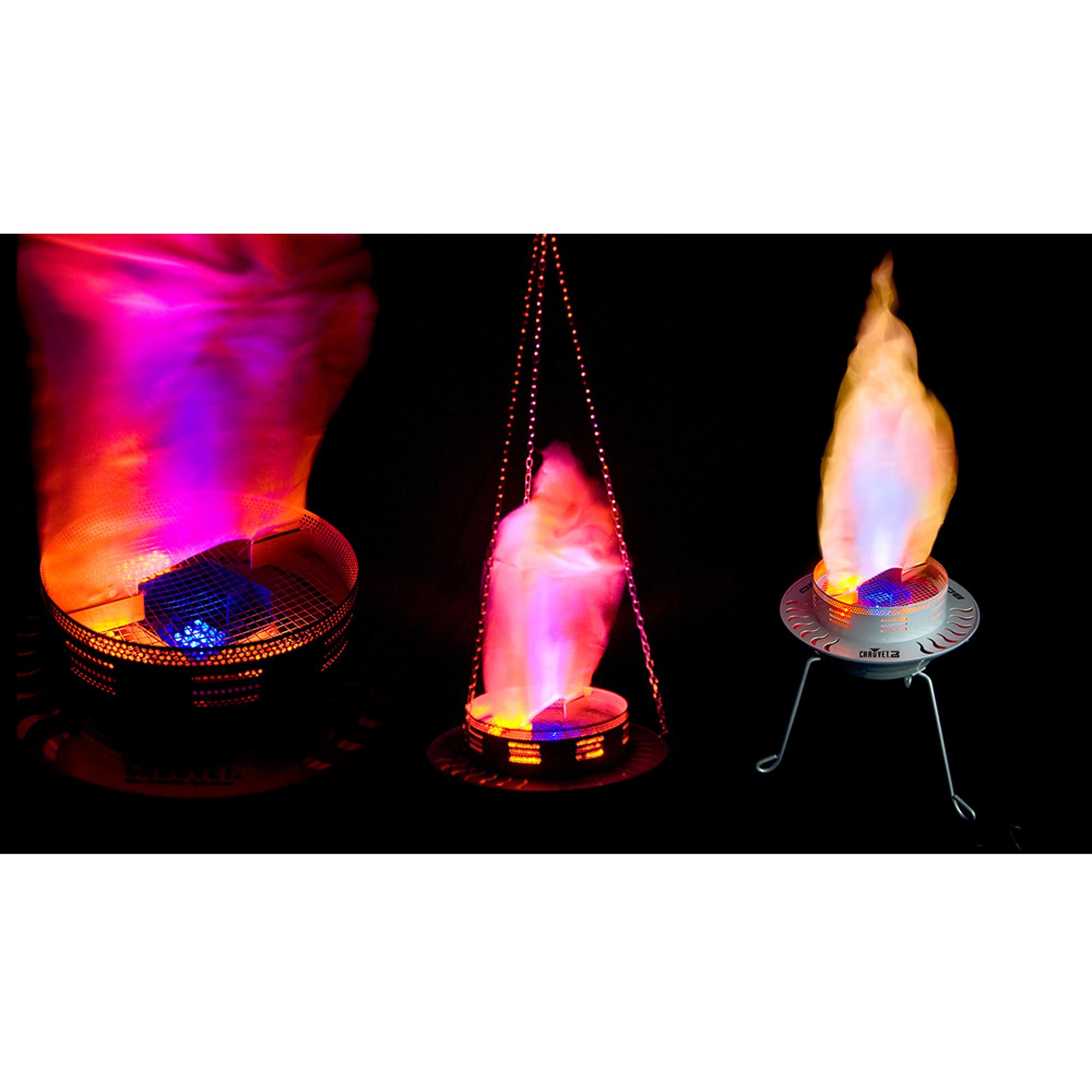 Chauvet Dj Bob Led Hanging Chain Amp Legs Fire Flame
