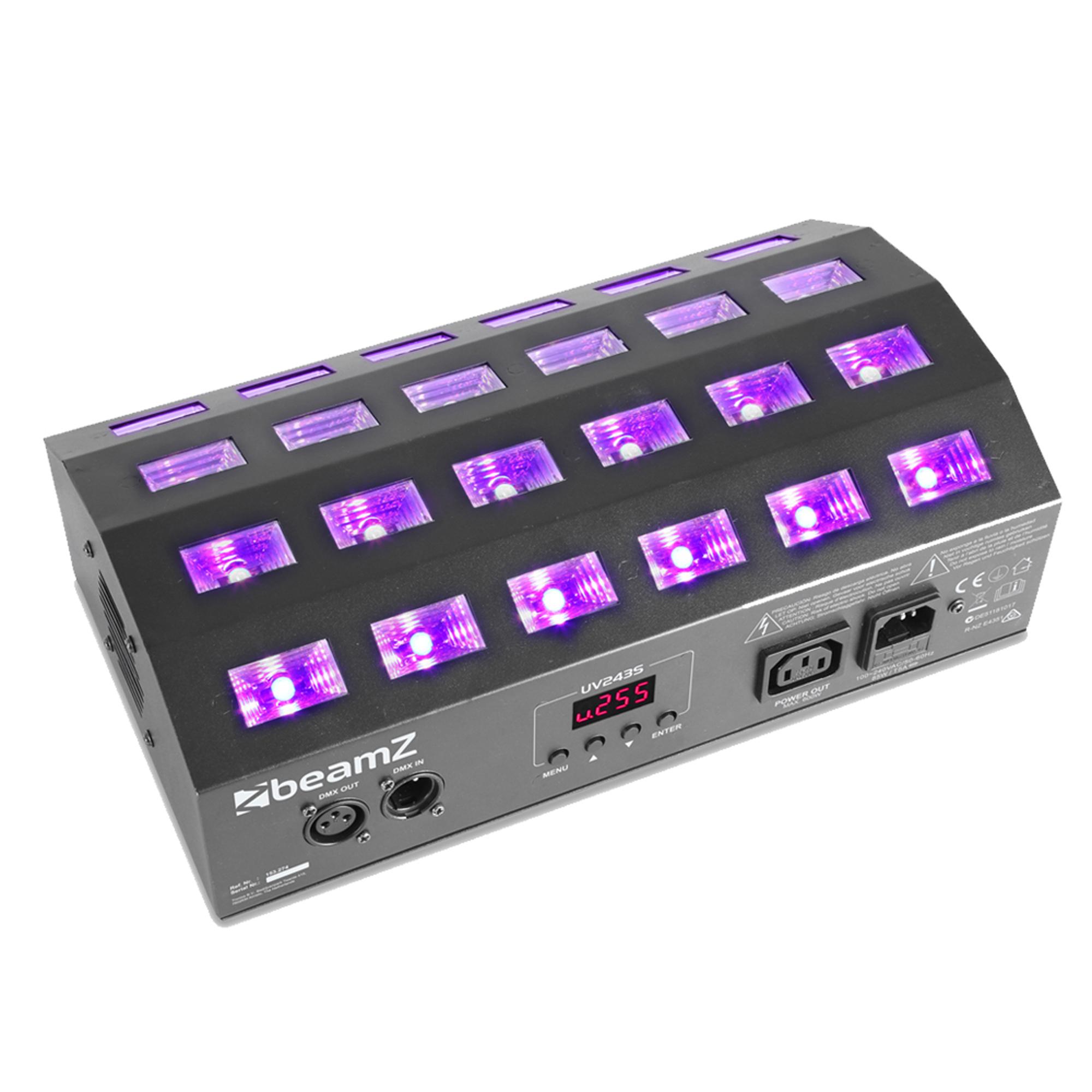 BeamZ BUV463 UV Panel Strobe Light